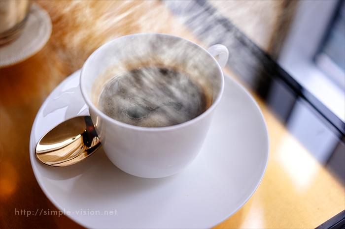 コーヒーと湯気合成3