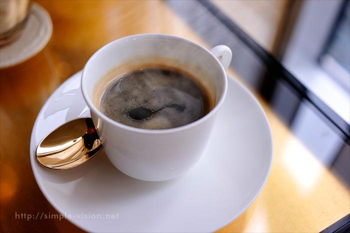 コーヒーと湯気合成4
