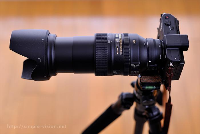 Nikon1V1+FT1+28-300VR