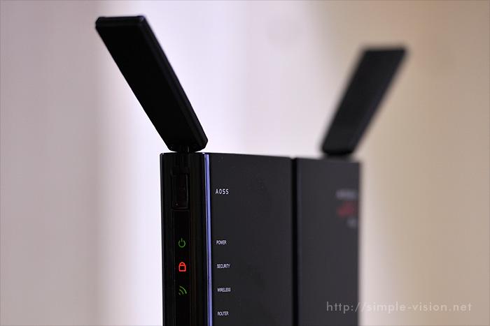 無線LAN親機アップ