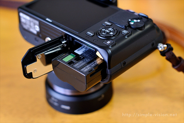 Nikon1V1電池イメージ