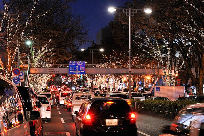 表参道イルミネーション2011年