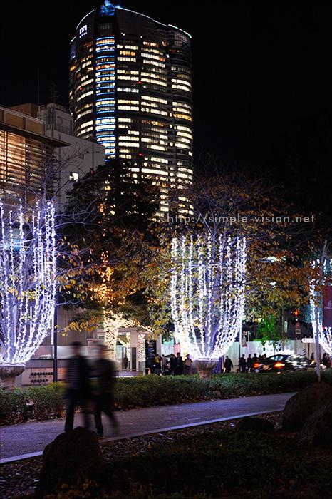 東京ミッドタウン「シャンパンイルミネーション」