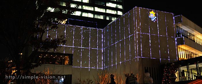 東京スカイツリーの3Dプロジェクションマッピング