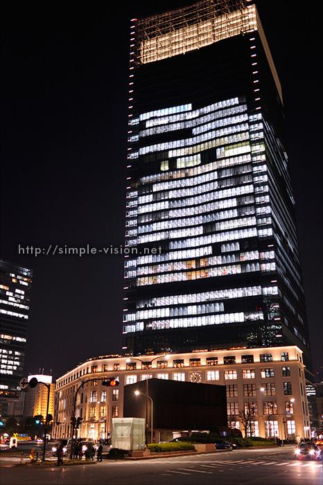 JPタワー夜景