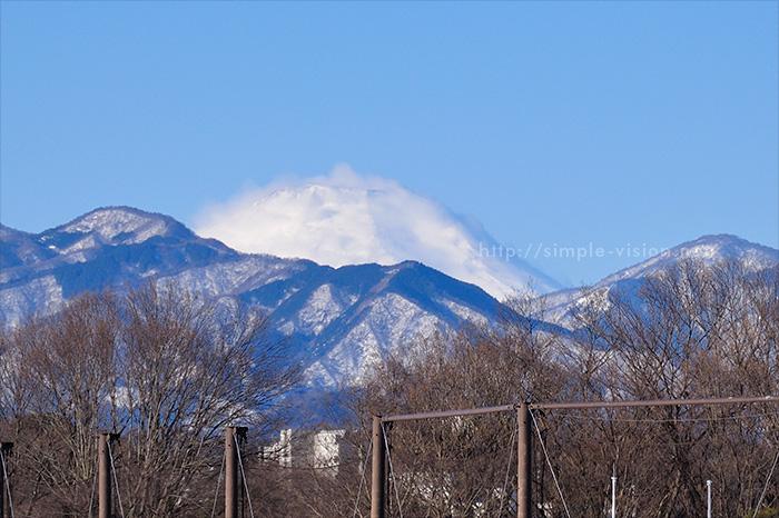 2月16日(日)朝の富士山