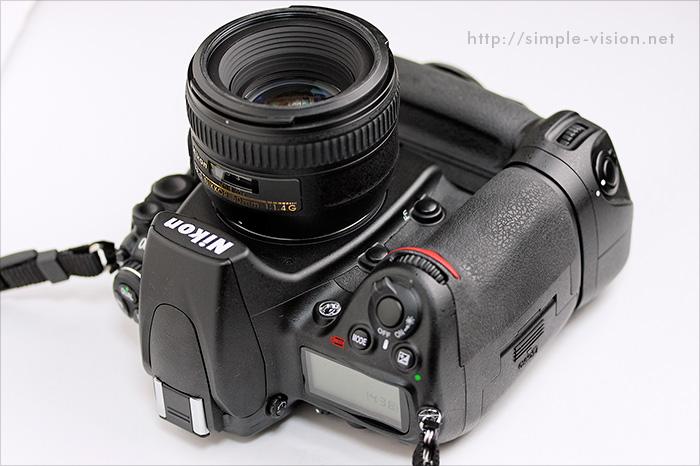 D700+50mm単焦点レンズ
