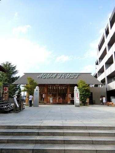 神楽坂駅 パークコート神楽坂 赤城神社