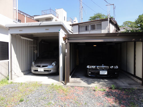 旧ガレージ