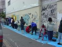 25m壁白塗り前