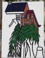 樋渡切株と緑に囲まれたエアーハウス
