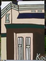 「玄関と窓ぎわが混じったオーダーハウス」樋渡