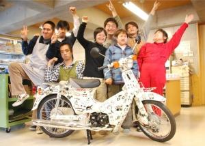 集合写真withバイク