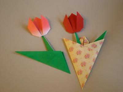 クリスマス 折り紙 チューリップ 折り紙 : asamayu.jugem.jp