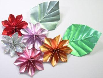 クリスマス 折り紙 花の立体折り紙 : hobby.coomin.lomo.jp