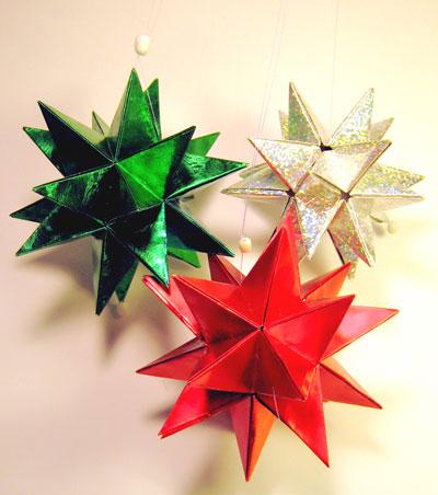 クリスマス 折り紙 折り紙 立体 星 : hobby.coomin.lomo.jp