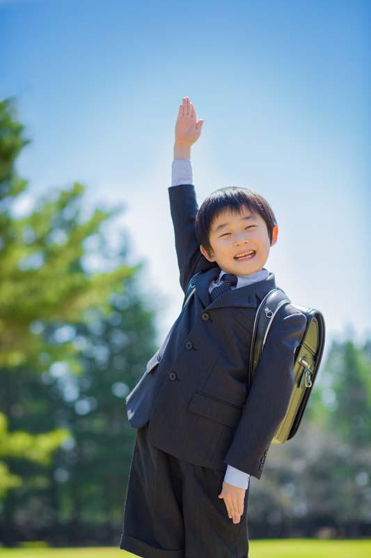 入学 大草原での入学式開催!