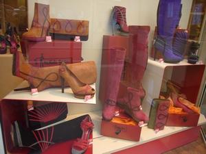 パリのブーツ