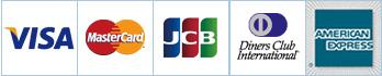 VISA MASTER JCB ダイナース アメリカンエキスプレス クレジットカード決済 <元国際線CAのセレクトショップ・ミヌーシュ>