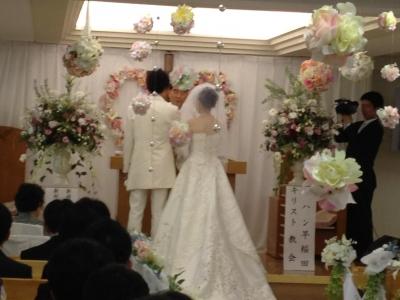 結婚式 ヨハン早稲田キリスト教会 イエス様愛してます ヨハン