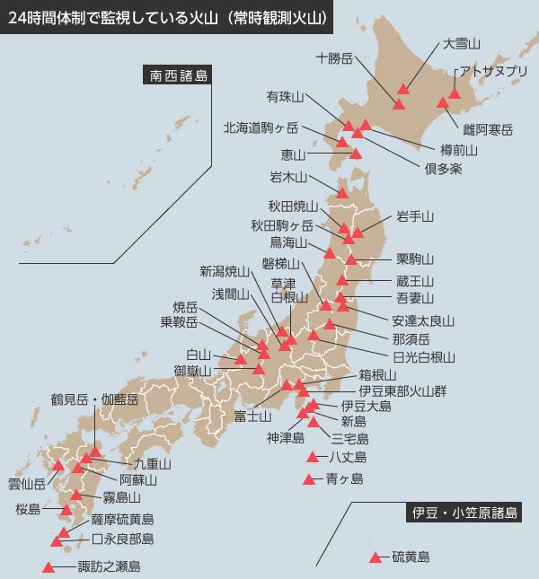山の種類のリスト - List of mountain types - JapaneseClass.jp