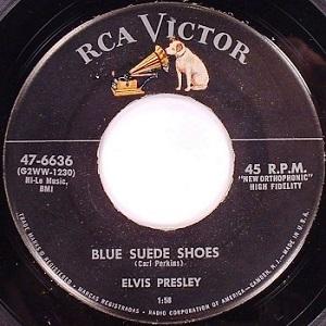 Elvis Presley - Blue Suede Shoes | 南京豆売りの声がする