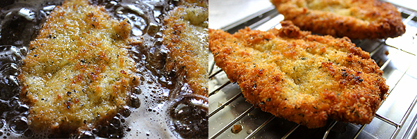 ミラノ風カツレツ 鶏ささみチキンカツ